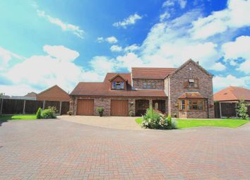 Thumbnail 4 bed detached house for sale in Waggoners Close, Scotter, Gainsborough