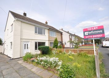 Thumbnail 3 bedroom semi-detached house to rent in Ribble Avenue, Freckleton, Preston, Lancashire