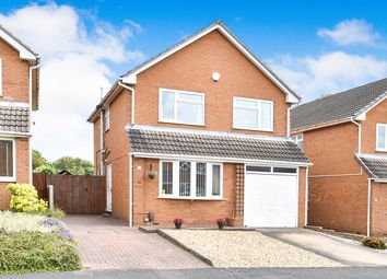 Thumbnail 4 bed detached house for sale in Swanmore Road, Littleover, Derby