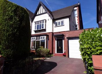 Thumbnail 4 bed semi-detached house for sale in Sandy Lane, Romiley, Stockport, Cheshire