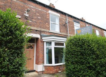 Thumbnail 2 bed terraced house for sale in Virginia Crescent, Worthing Street, Hull