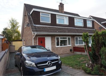 Thumbnail 3 bed semi-detached house to rent in Windermere Road, Wistaston, Crewe