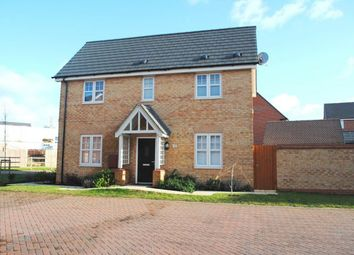 Thumbnail 3 bed semi-detached house for sale in Glebe Road, Buckton Fields, Northampton