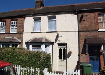 Thumbnail 3 bed terraced house to rent in Camp Road, St Albans