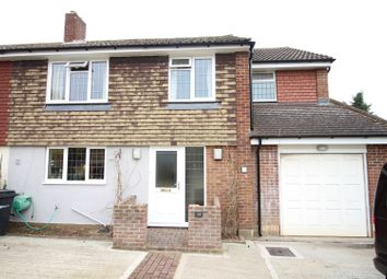 Thumbnail 4 bed semi-detached house for sale in Griffin Way, Bookham