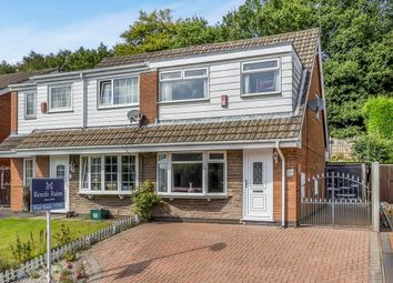 Thumbnail 3 bedroom semi-detached house for sale in Defoe Drive, Parkhall, Stoke-On-Trent