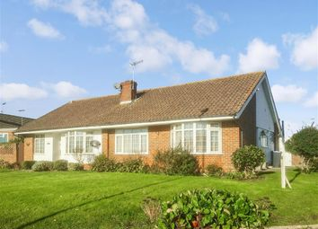 Thumbnail 2 bed semi-detached bungalow for sale in Mersey Road, Worthing, West Sussex