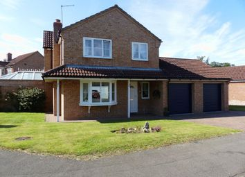 Thumbnail 4 bed detached house for sale in Stoyles Way, Heighington, Lincoln