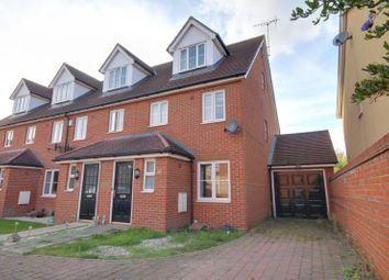 Thumbnail 3 bedroom end terrace house to rent in Sun Street, Sawbridgeworth, Herts