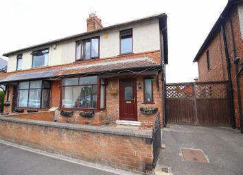 Thumbnail 3 bed semi-detached house for sale in Longfield Road, Darlington