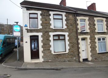 Thumbnail 3 bed end terrace house for sale in Graigwen Road, Porth