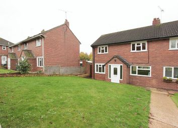 Thumbnail 3 bed semi-detached house to rent in Headland Close, Exeter