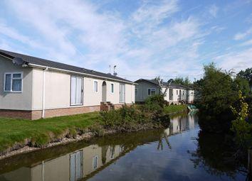 Thumbnail 1 bedroom mobile/park home to rent in Moor Farm Park, Moor Lane, Calverton