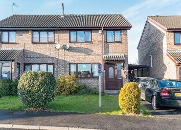 Thumbnail 3 bed semi-detached house to rent in Caldbeck Place, North Anston, Sheffield