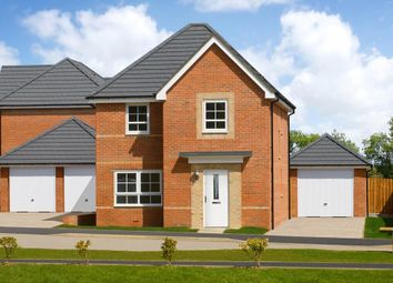 """Thumbnail 4 bedroom detached house for sale in """"Kingsley"""" at Edward Pease Way, Darlington"""