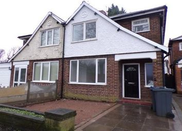 Thumbnail 3 bed semi-detached house to rent in Highland Road, Erdington, Birmingham