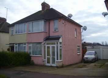 Thumbnail 2 bed semi-detached house to rent in Fourth Avenue, Luton, Beds