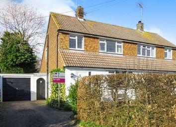 Thumbnail 2 bed semi-detached house for sale in Chapel Road, Plumpton Green, Lewes