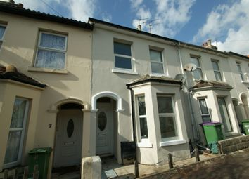 Thumbnail 2 bed terraced house to rent in Marshall Street, Folkestone
