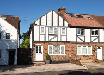 Thumbnail 2 bed terraced house for sale in Alberta Avenue, Cheam, Sutton