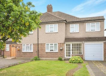 Thumbnail 4 bed semi-detached house for sale in Main Road, Sidcup, Kent, .