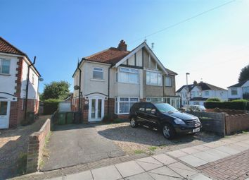 Thumbnail 3 bed semi-detached house for sale in First Avenue, Farlington, Portsmouth