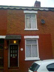 Thumbnail 3 bed terraced house to rent in Macferran Street, Longsight, Manchester