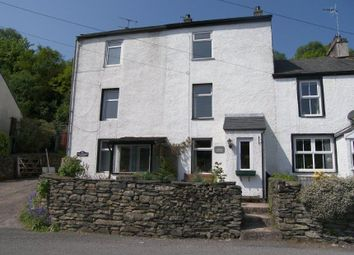 Thumbnail 3 bed terraced house for sale in 2 Woodside Cottages, Finsthwaite Lane, Backbarrow, Nr Ulverston, Cumbria