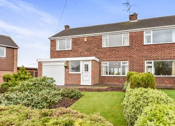 Thumbnail 3 bed semi-detached house for sale in Ellesmere Drive, Trowell, Nottingham
