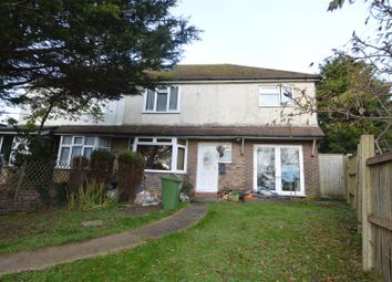 Thumbnail 4 bedroom semi-detached house for sale in Ninfield Road, Bexhill-On-Sea