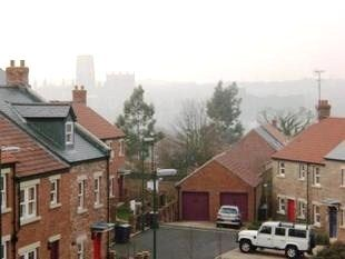 Thumbnail 2 bed flat for sale in The Sidings, Durham