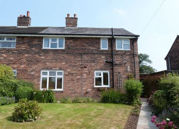 Thumbnail 3 bed end terrace house to rent in Crauford Road, Eaton, Congleton