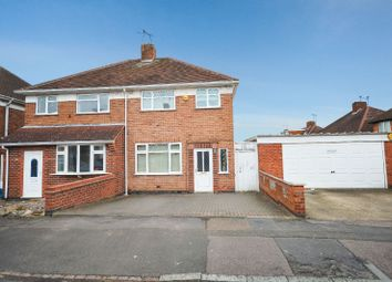 Thumbnail 3 bed semi-detached house for sale in The Parkway, Off Uppingham Road, Leicester