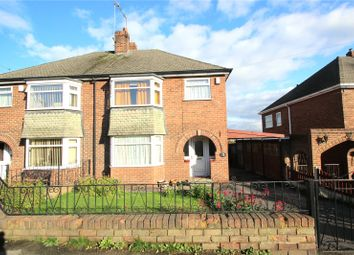 Thumbnail 3 bed semi-detached house for sale in Cottam Croft, Hemsworth, Pontefract, West Yorkshire