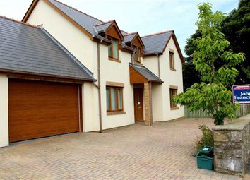 Thumbnail 4 bed detached house for sale in The Crescent, Johnston, Haverfordwest