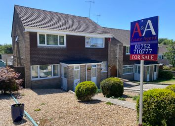 Thumbnail 2 bed semi-detached house for sale in Hawthorn Avenue, Torpoint