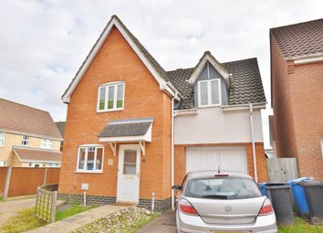 Thumbnail 3 bed detached house to rent in Stirling Road, Old Catton, Norwich