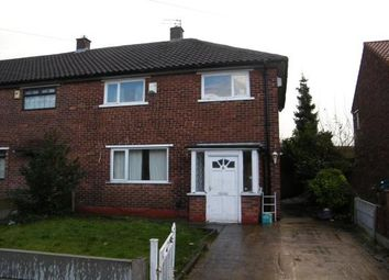 Thumbnail 3 bed semi-detached house to rent in Brookhouse Avenue, Eccles, Manchester