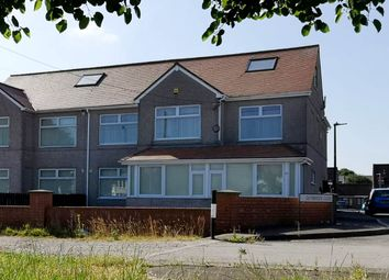Thumbnail 6 bedroom semi-detached house for sale in Port Road East, Barry