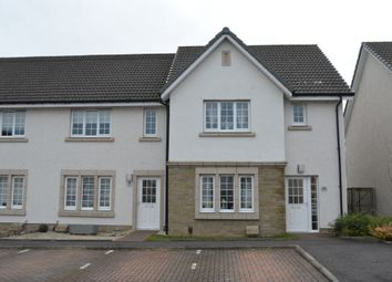 Thumbnail 3 bed end terrace house for sale in Crown Crescent, Larbert, Falkirk