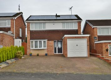 Thumbnail 4 bed detached house for sale in Felden Close, Stafford