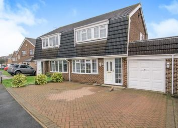 Thumbnail 3 bed semi-detached house for sale in Archer Way, Swanley, Kent, Archer Way