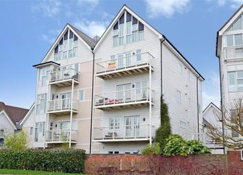 Thumbnail 3 bed flat for sale in Edgar Close, Kings Hill, West Malling, Kent