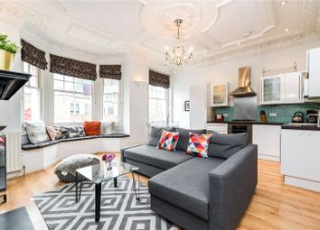 Thumbnail 2 bed flat for sale in Mazenod Avenue, West Hampstead Borders