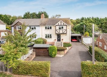 Thumbnail 4 bed semi-detached house for sale in Derehams Avenue, Loudwater, High Wycombe
