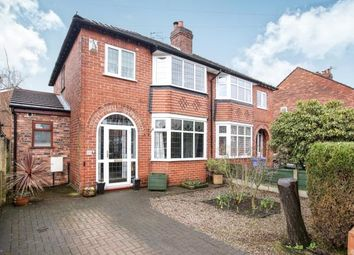 Thumbnail 3 bedroom semi-detached house for sale in Hurdsfield Road, Great Moor, Stockport, Cheshire