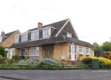 Thumbnail 3 bed semi-detached house for sale in Field Close, Melton Mowbray