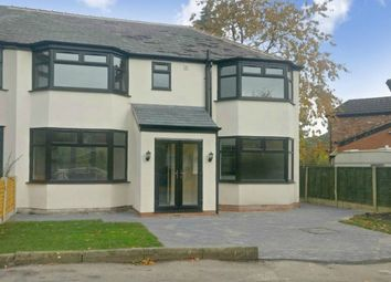 Thumbnail 4 bed semi-detached house for sale in The Oval, Heald Green, Cheadle