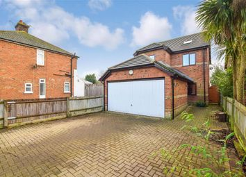 Thumbnail 4 bedroom detached house for sale in Canterbury Road, Willesborough, Ashford, Kent