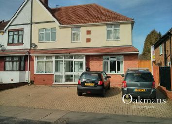 Thumbnail 10 bed semi-detached house for sale in Gibbins Road, Birmingham, West Midlands.